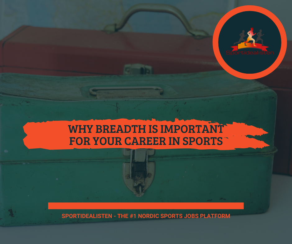 Sports job sport management breadth important career in sports