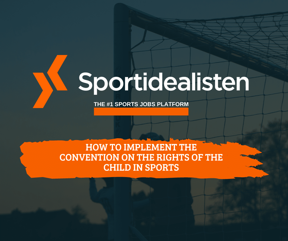 Sports guide, The convention of the rights of the child sports