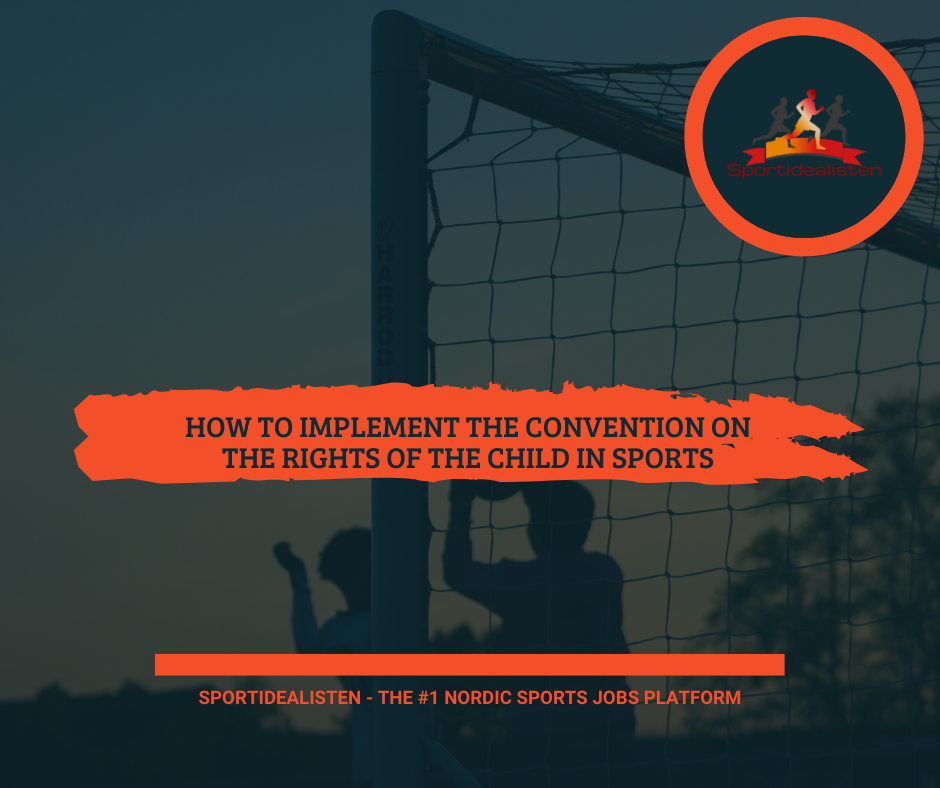 Sports guide The convention of the rights of the child sports