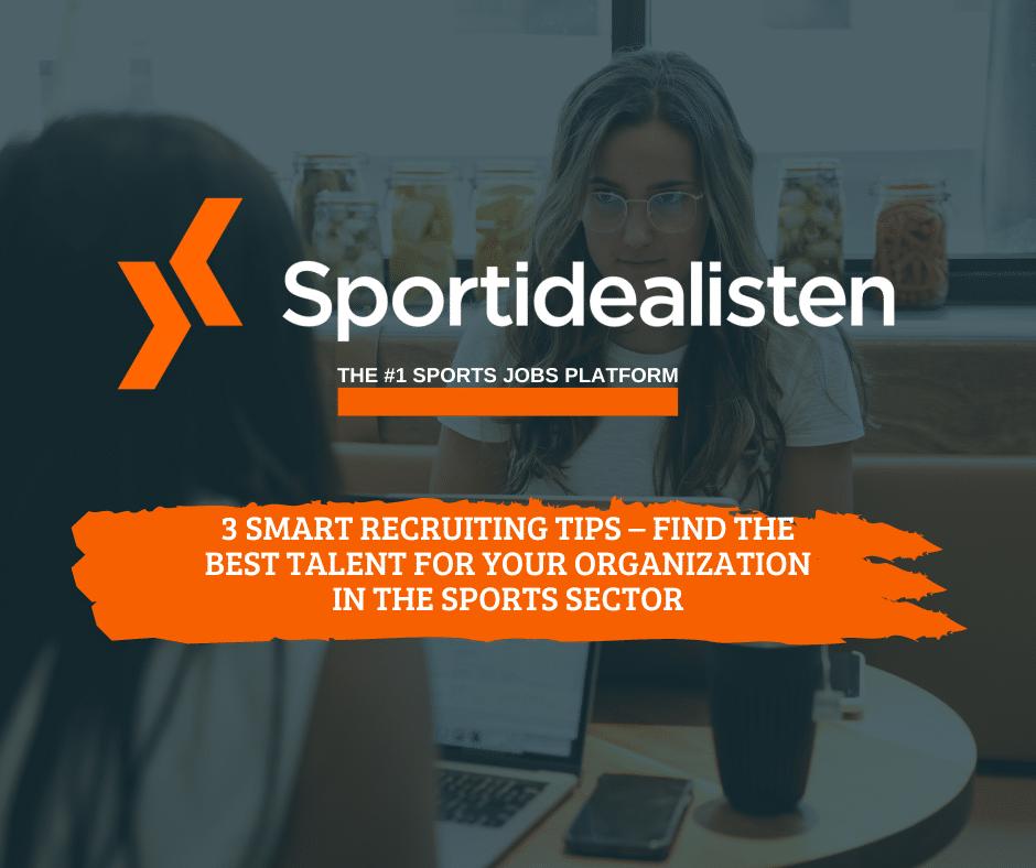 Recruiting, Talent, Organization, Sports Sector