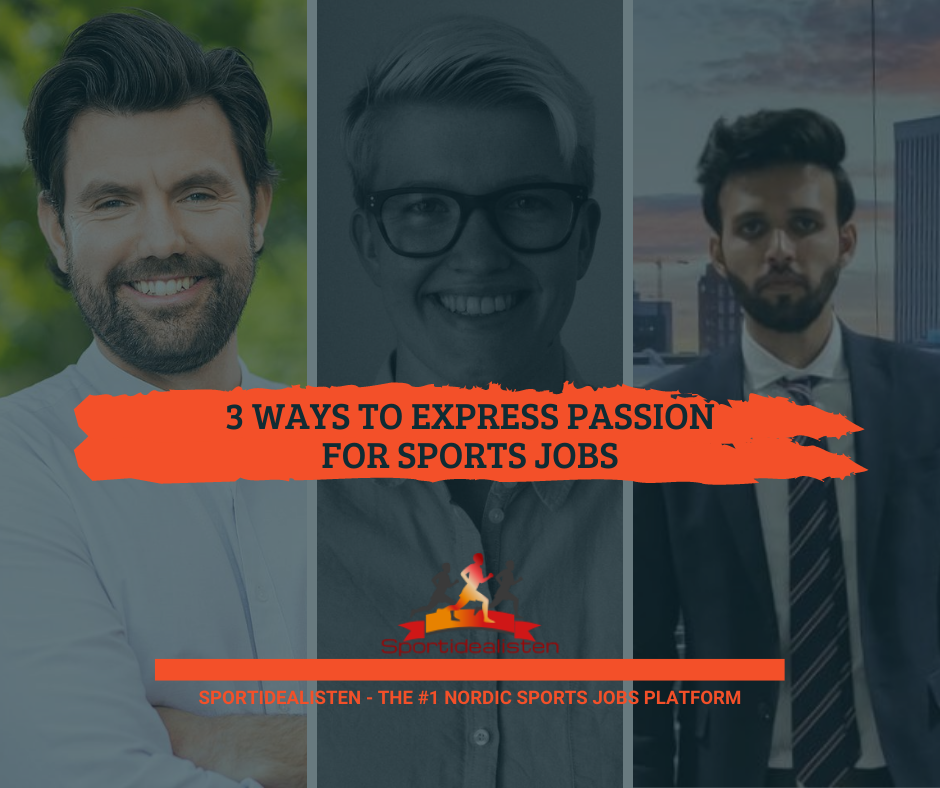 Passion sports jobs guide