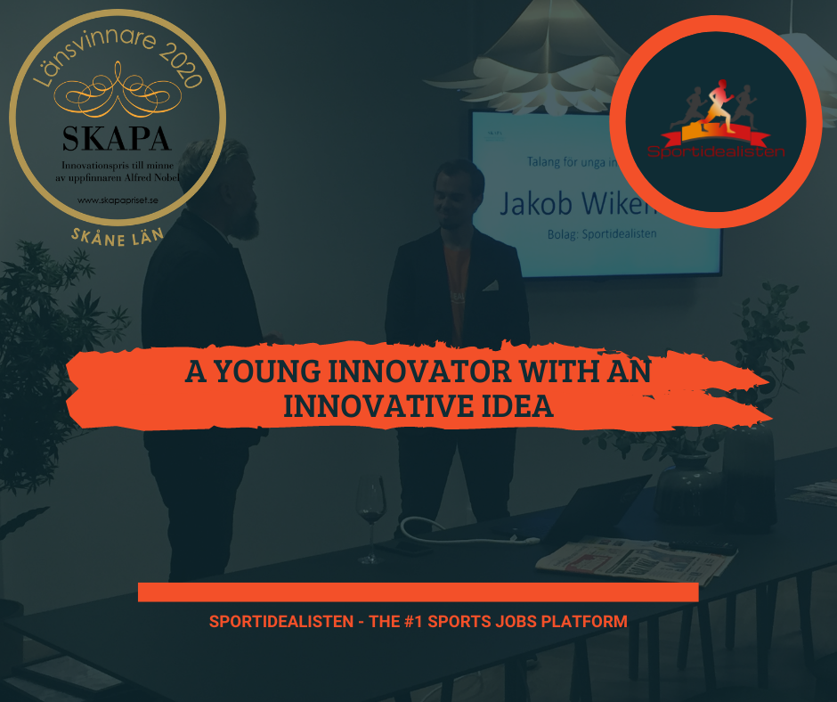 innovator innovative Sportidealisten Jakob Wikenstaal