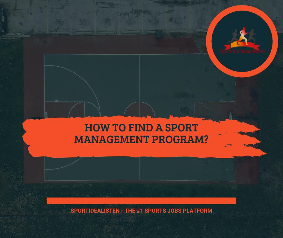 Sport management program
