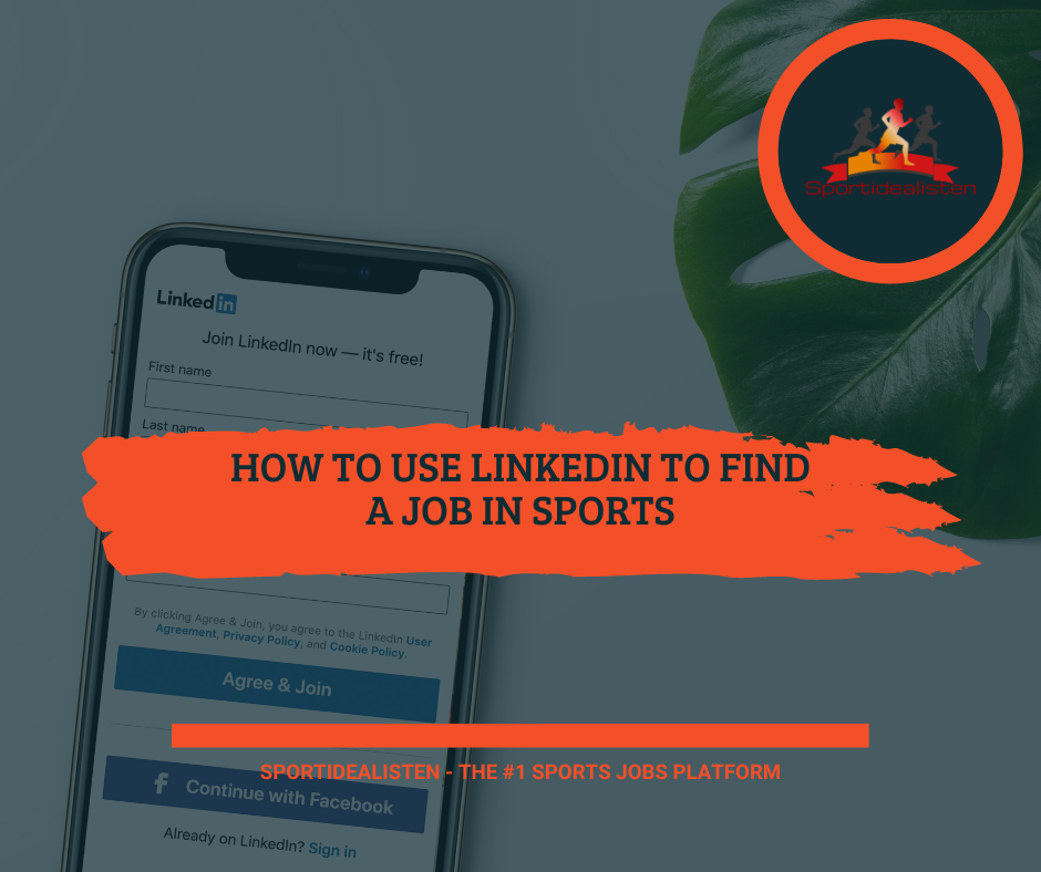 How to use LinkedIn to find a job in sports