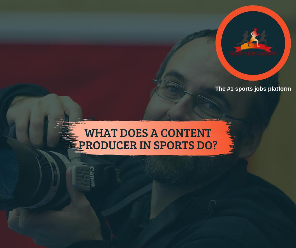 Content producer, Floorball