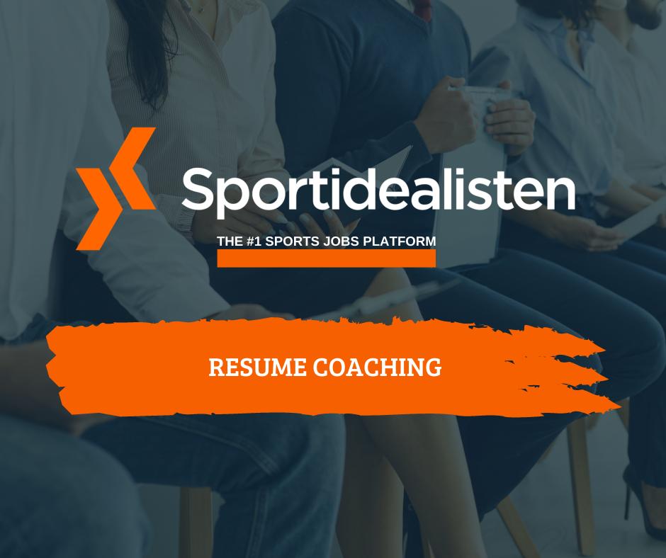 Resume coaching, Resume coaching in sports
