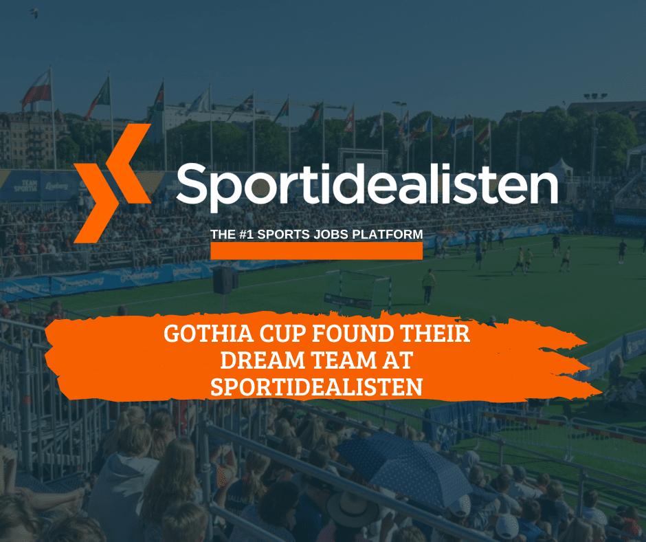Gothia Cup, dream team at Sportidealisten